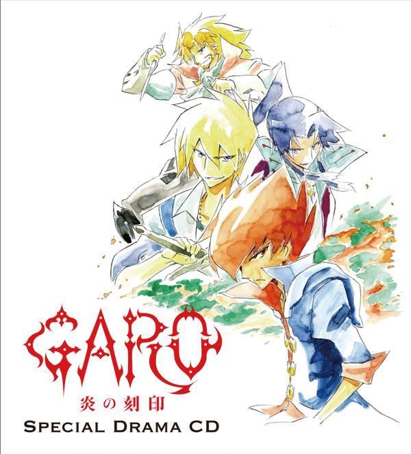 Garo: Engraved Flame Special Drama CD, 2015.