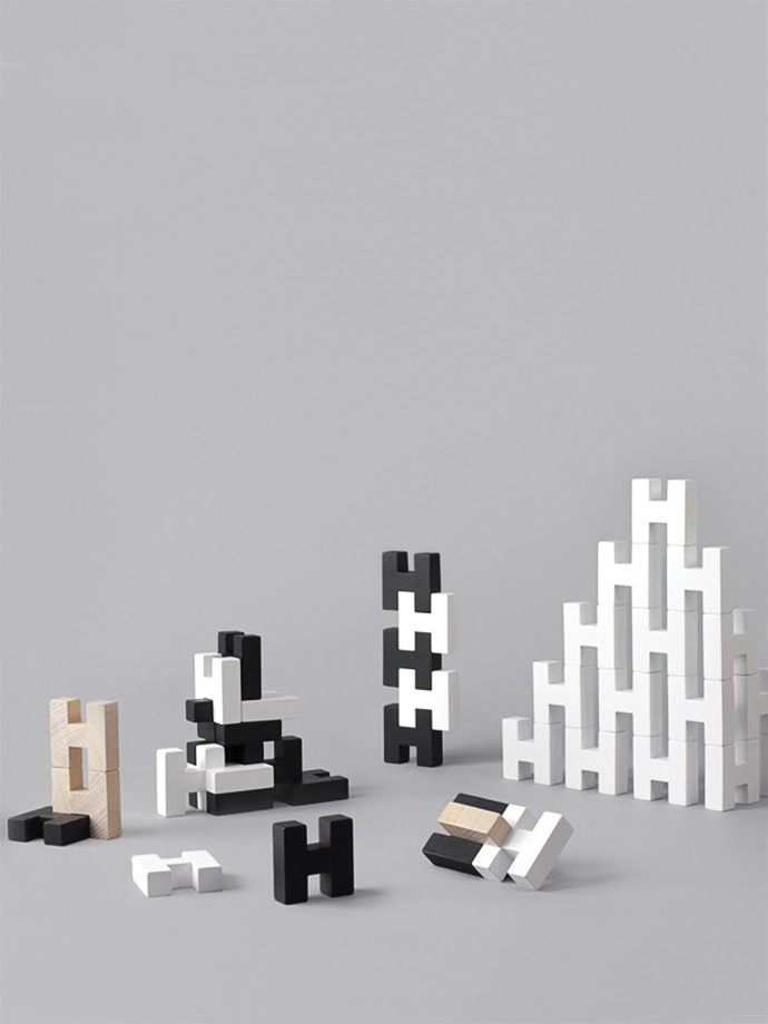 Encourage your child's imagination with this simple yet ingenious collection of wooden toys.