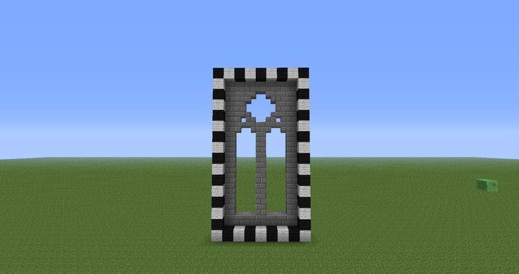 Minecraft window ideas google search geek minecraft for Window design minecraft