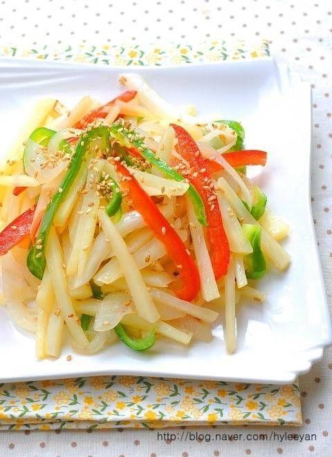 감자볶음,감자볶음맛있게 만드는법 – 레시피   Daum 요리