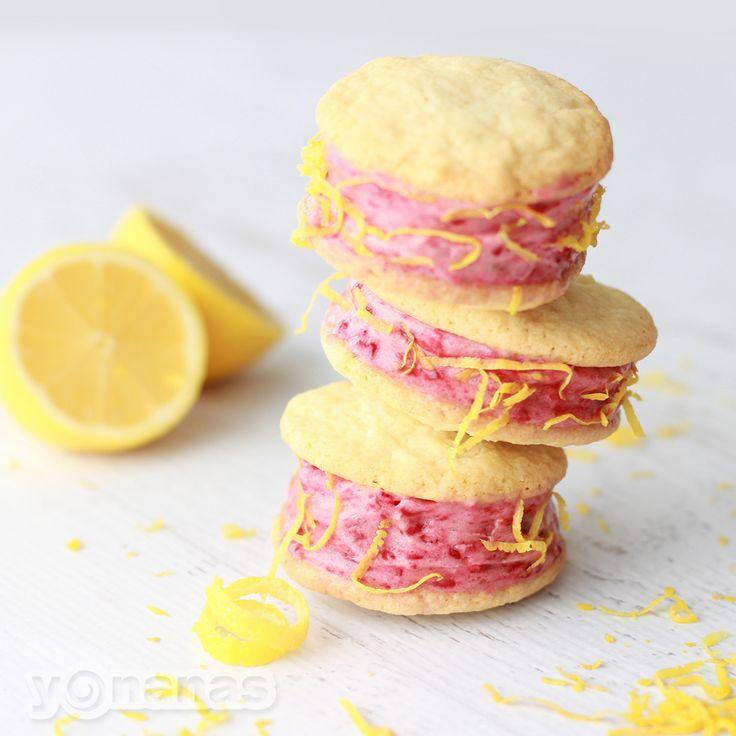 Lemon Raspberry Yonanas Cookie Sandwiches: These delightful treats are ...