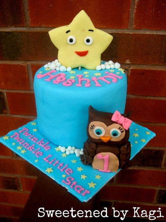 Etsy Fondant Cake Toppers