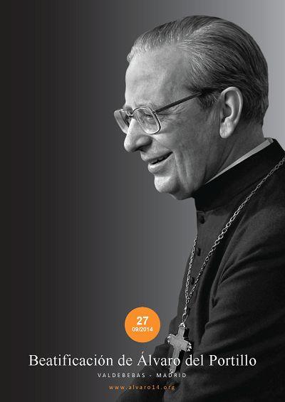 Los carteles de la beatificación de Álvaro del Portillo, en los formatos A1, A2 y A3, disponibles para descarga