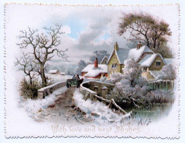 victorian christmas scenes - photo #36