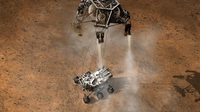 El 'Curiosity' aterriza en Marte