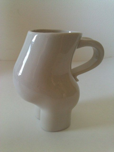 Unique Vintage Baby Bump Coffee Mug or Cup - Beautiful Pregnant Mama Belly