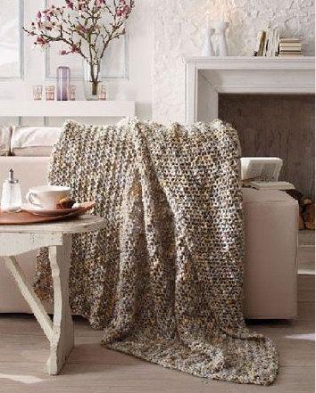 Zum Kuscheln: Edle Decken stricken
