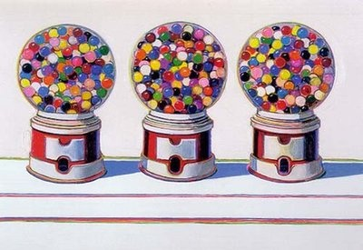 Three Machines by Wayne Thiebaud