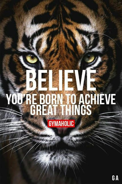 You were born to do great things - just go do it!!!