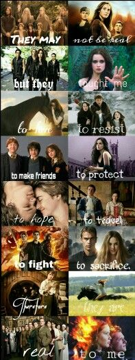 The lord of the rings // The host // The mortal instruments // Beautiful creatures // Flicka - best friends // Narnia // Harry Potter // Vampire Academy // The fault in our stars // Ruby Red // Percy Jackson // Divergent // The hobbit // Ostwind // Downton Abbey // The hunger games