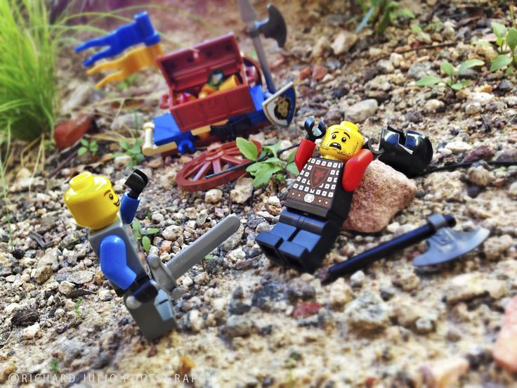 For King and Country - Lego macro photography series by Richard Julio Photography