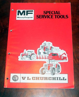 Massey #ferguson mf farm tractor #sales vl #churchill tools special book 135 290,  View more on the LINK: 	http://www.zeppy.io/product/gb/2/351881019162/