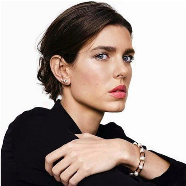 Charlotte Casiraghi Newest Image For Montblanc