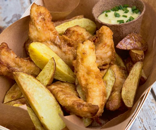 Cuisinez du merlu fa on fish and chips recipe chips for Fish chips recipe