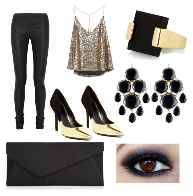 """Gold Style"" by mhinojosafuentes on Polyvore"