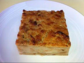 colegiales o budín de pan, Receta chilena fácil y económico de hacer
