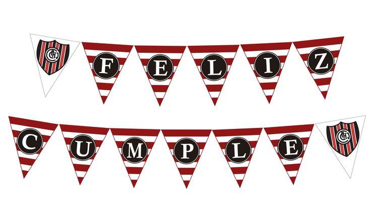 Banderines para cumpleaños con tu equipo de fútbol. Se hacen de todos los equipos!! Se puede personalizar con tu nombre https://www.facebook.com/pages/Rona-Creaciones/458820874162017