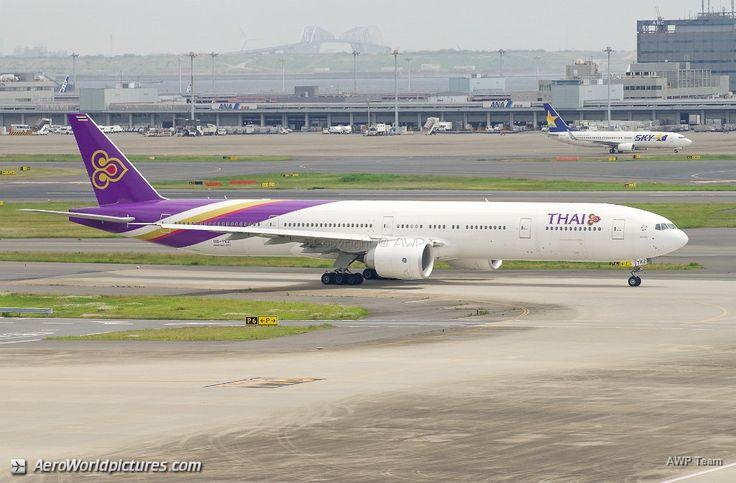 Thaï Airways B777-3D7ER / HS-TKZ / msn 42115