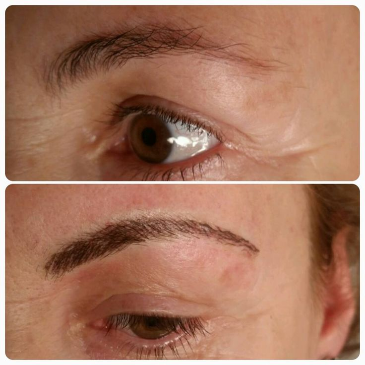 99 best eyebrow microblading by christopher drummond nyc for Semi permanent tattoo eyebrows