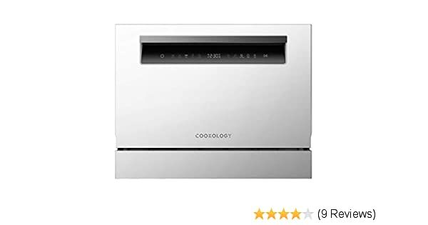 Cookology Touch Control Compact Table Top Dishwasher 6 Place