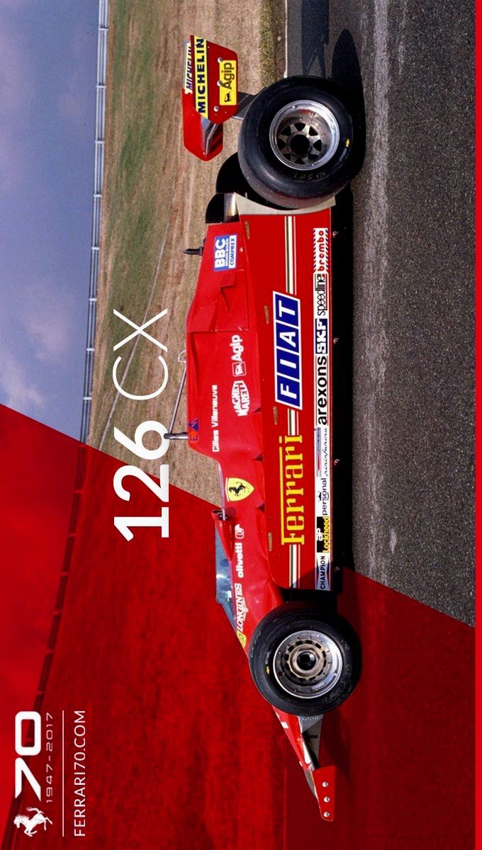 2017/12/4:Twitter: @ScuderiaFerrari : Back to 1981 and the introduction of a new type of compressor, the Comprex. 70.ferrari.com/en/garage/126-… #Ferrari70