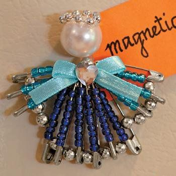 82 best safety pins images on pinterest safety pins for Safety pins for crafts