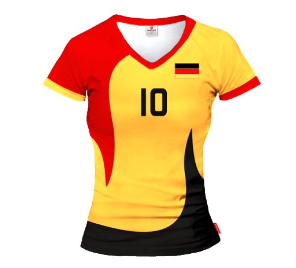 ACTIVE Germany Volleyball Women Jersey With Custom Name and Number