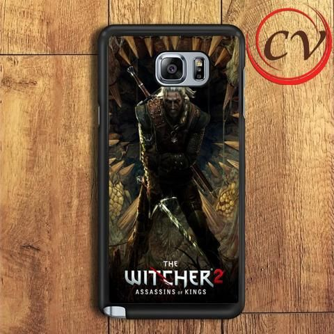 The Witcher 2 Assasins Of Kings Samsung Galaxy Note 5 Case