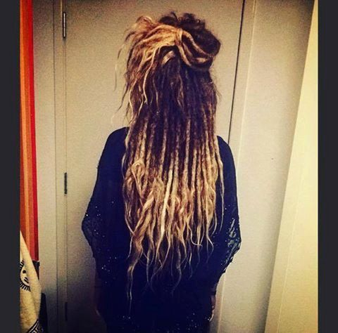 Permanent 40 Real Human hair Dreadlocks Extensions by RAVINGLOCKS