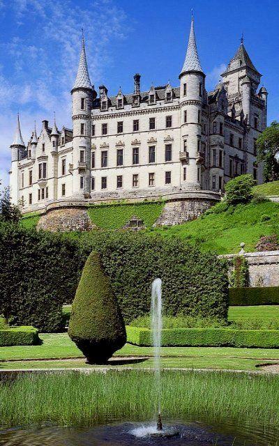 Dunrobin Castle, Highland, Scotland
