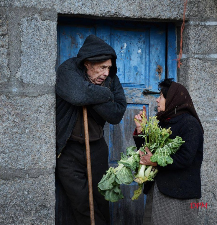 old peope in a old and little village, in profound Portugal. So sweet.