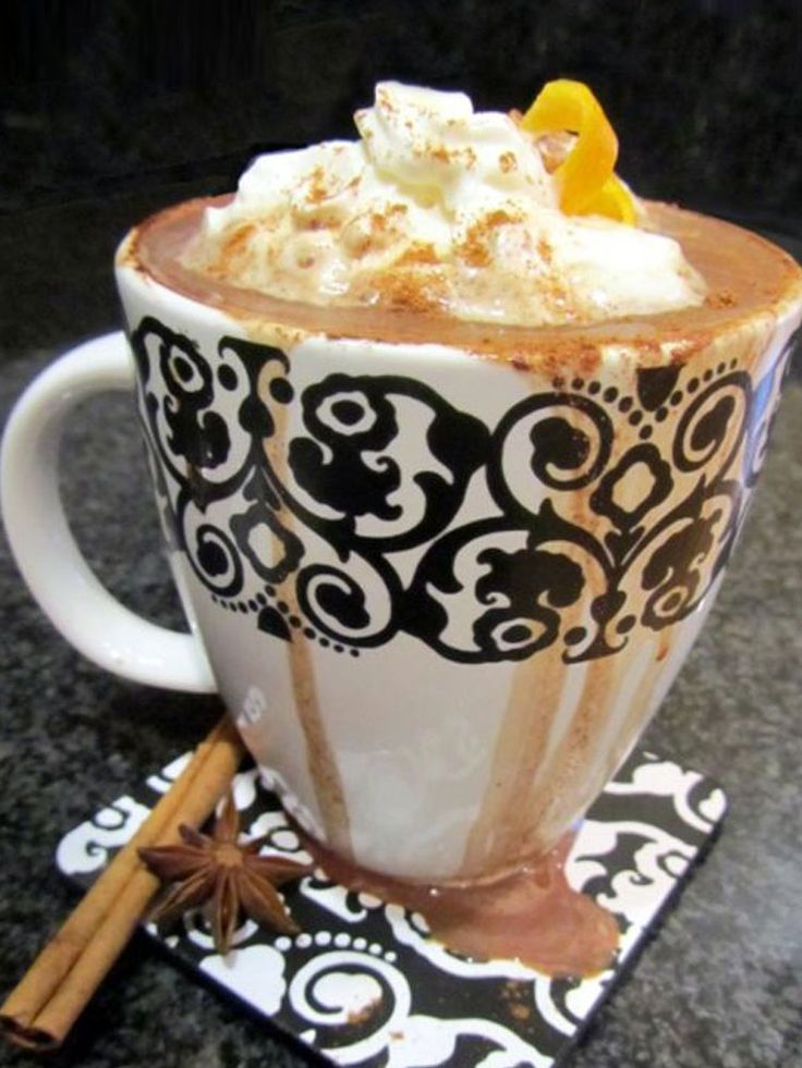 Whip up a steaming mug of sweet, creamy, chocolatey deliciousness when you follow this Spiced Orange Mocha recipe! http://www.joyofkosher.com/recipes/spiced-orange-mocha/