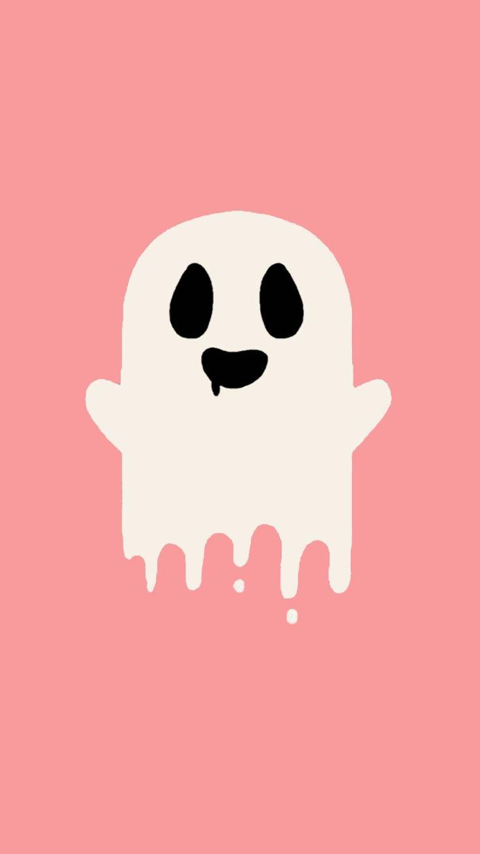 Wallpaper iphone tumblr princess - Imagem De Pink Ghost And Halloween