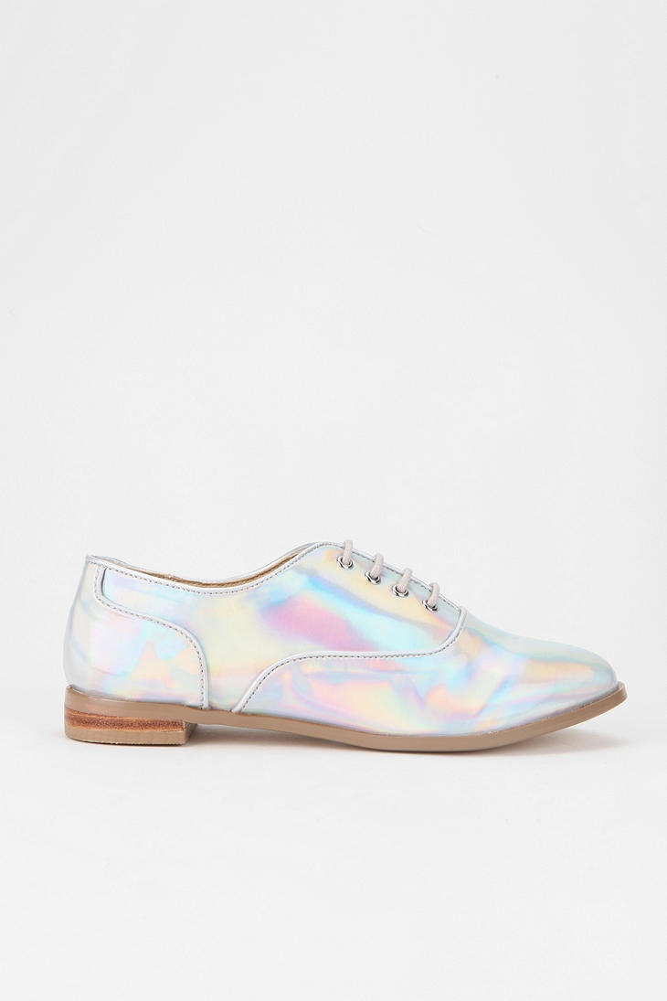 Electro Oxford #urbanoutfitters #iridescent