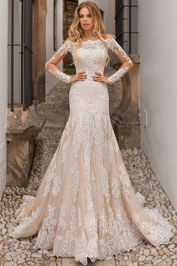 cba4b0068d2 Eyecatching Tulle Off-the-shoulder Neckline 2 In 1 Wedding Dress With Lace  Appliques   Detachable Skirt