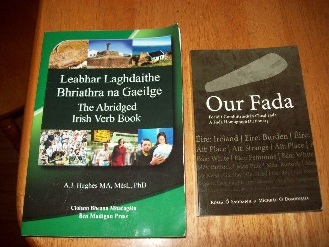 8 best learn asl and irish images on pinterest irish dancing and the abridged irish verb book by aj hughes and our fada by fandeluxe Images