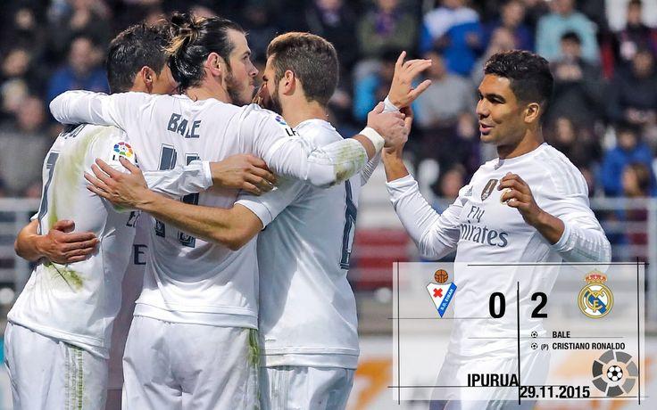 Video Éibar 0-2 Real Madrid (La Liga 2015/16 matchday 13)