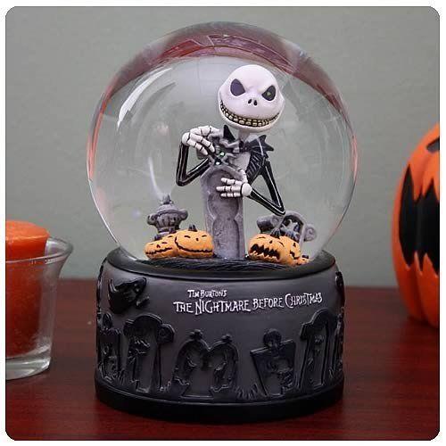 Nightmare Before Christmas Graveyard Jack Water Ball