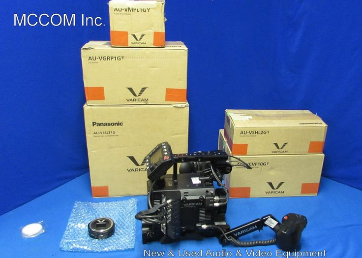 Panasonic AU-V35LT1G 4K LT Varicam Digital Cinema Camera Demo w/ 349 hrs Access