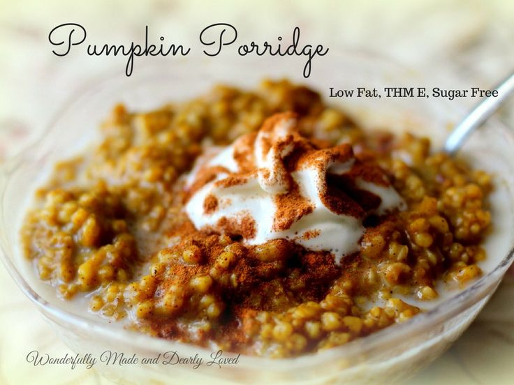 Sweetly Spiced Pumpkin Porridge right from your instant pot! This is such an energizing healthy breakfast I just had to share!