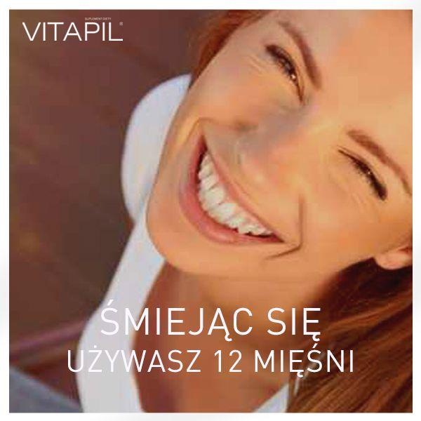 Śmiej się! #vitapil #zlotemysli #zdrowewlosy