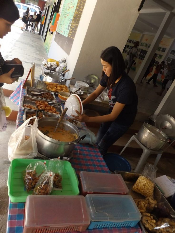 Food at Ban Krang campsite, Kaeng Krachan national park