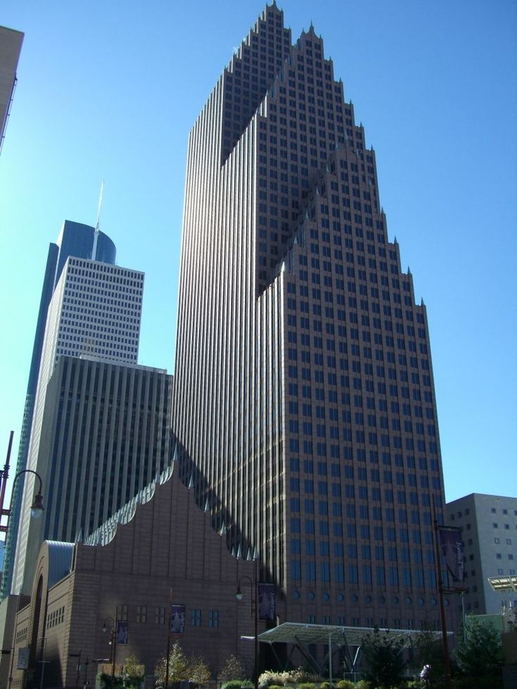 Bank Of America Center Houston Gothic BuildingsModern