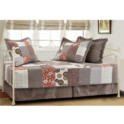 buy stella quilted reversible daybed set in multi from bed bath u0026 beyond