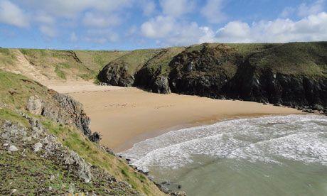 Wales secret beaches