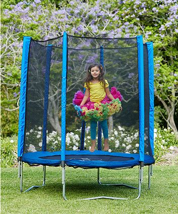 Plum 6ft Trampoline and Enclosure - Blue Money towards