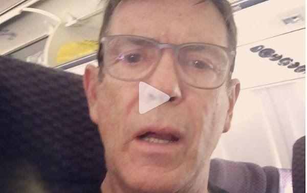 Carlos Mata cuenta como sintió el terremoto dentro de un avión