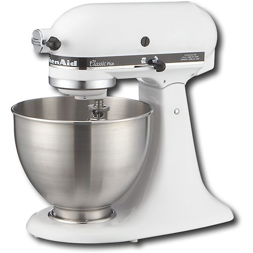 kitchenaid classic stand mixer white