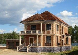 Кирпичные или каменные дома