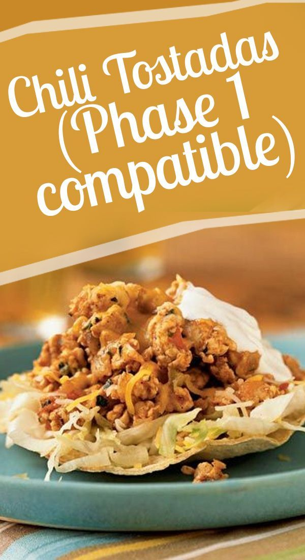 Chili Tostadas Phase 1 Compatible Ideal Protein FoodProtein DietsProtein RecipesDiet